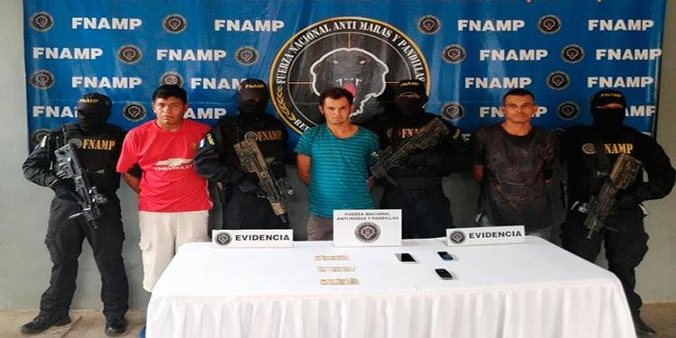 A todos los imputados del delito de extorsión se les dictó la medida de detención judicial.