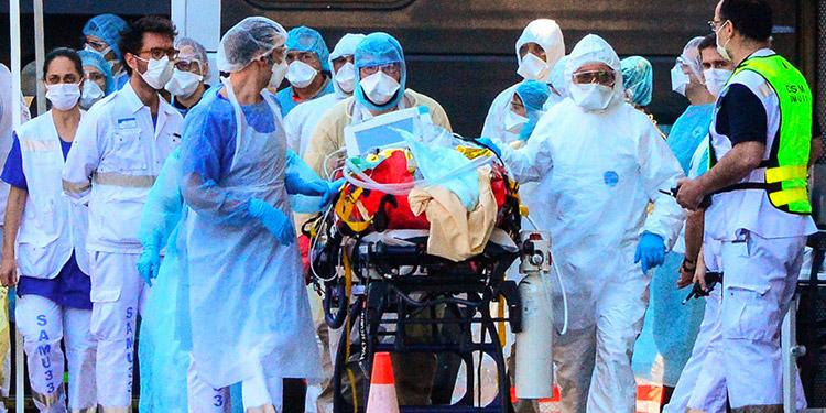 Francia: Encuesta revela hartazgo de enfermeros por pandemia