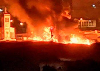 Incendio en Mercado Colón de Comayaguela