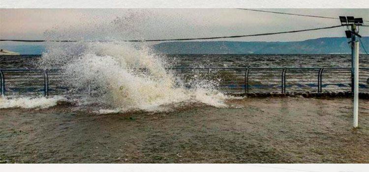 Se desborda el Mar de Galilea por primera vez en 300 años