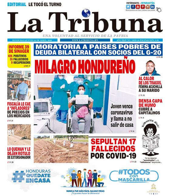 MILAGRO HONDUREÑO