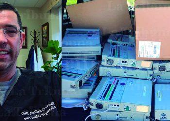 """Plutarco Castellanos: """"respiradores darán esperanza a pacientes en Honduras"""""""
