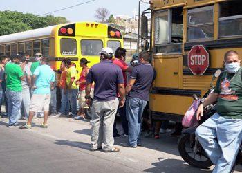 Transportistas claman por ayuda en 'municipios olvidados' de Francisco Morazán (Fotos)