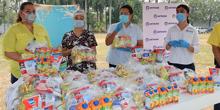 Entregan 30,000 raciones de alimento a hospitales de San Pedro Sula (Vídeo)