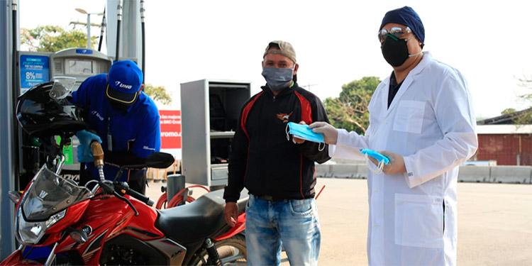 El uso de las mascarillas es obligatorio y UNO contribuye a que la población cumpla con la medida.