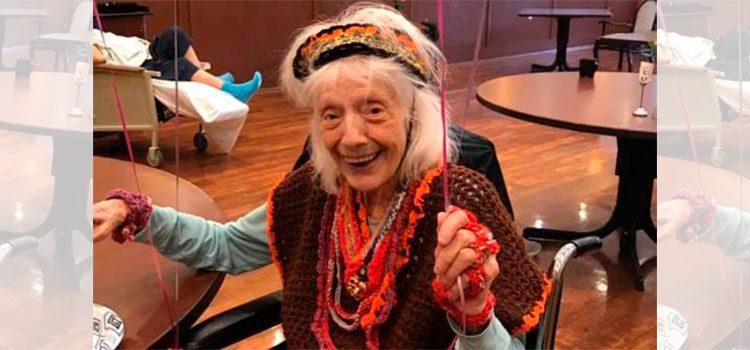 Mujer de 101 años de N.York sobrevive a gripe española, cáncer y ahora COVID-19