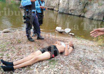 Bomberos rescatan cadáver de joven ahogado en el río Choluteca en aldea Yaguacire