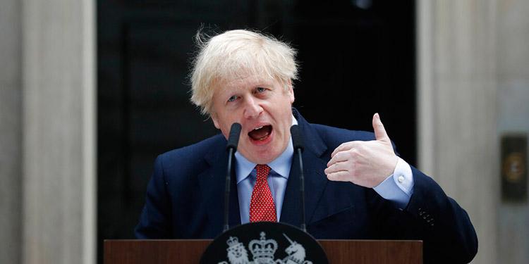 Johnson pide a británicos paciencia en lucha contra el coronavirus