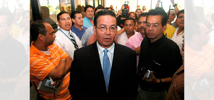 Restos de expresidente Rafael Leonardo Callejas serán repatriados
