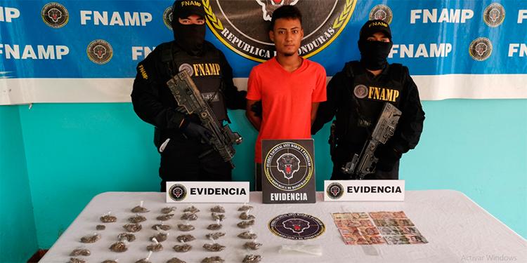 """Cae """"La Perra"""" en La Ceiba acusado por tráfico de drogas"""