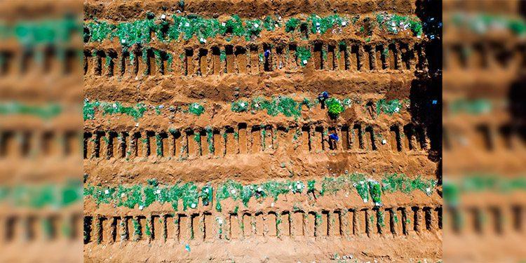 En un cementerio de Brasil aumentaron 45% las sepulturas — Coronavirus