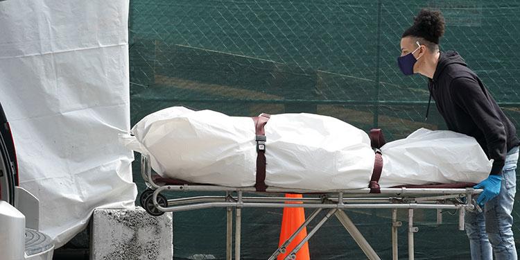 Más de 2.100 muertos en EEUU en 24 horas