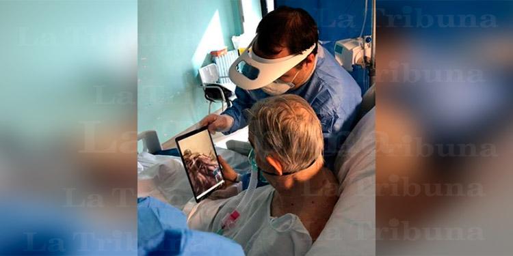 Honduras activará las videollamadas en UCI para pacientes con COVID-19 y sus familias