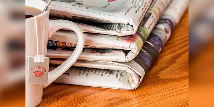 Científicos dicen que es imposible contagiarse de COVID-19 a través de un diario
