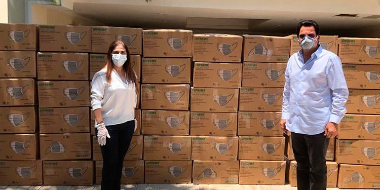 AHM dona más de L23 millones en equipo y materiales contra COVID-19 (Video)