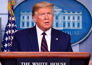 Trump exige en conferencia sobre el Líbano una investigación transparente