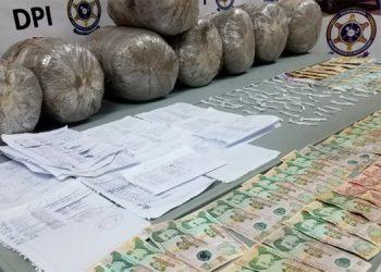 Cae supuesto pandillero con 80 libras de marihuana