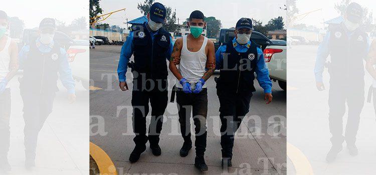 Arrestan a supuesto gatillero de la MS-13