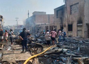 Unos 380 puestos del mercado Colón serán reconstruidos en el mismo lugar del incendio