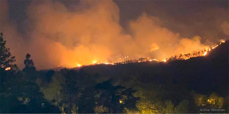 Pavorosos incendios en alrededores de Tegucigalpa (Video)