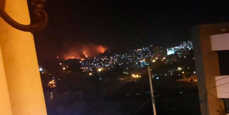 Se incrementan incendios forestales en periferia de Tegucigalpa