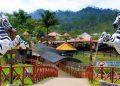 El zoológico y eco parque Joya Grande opera a ocho kilómetros de Santa Cruz de Yojoa, Cortés.