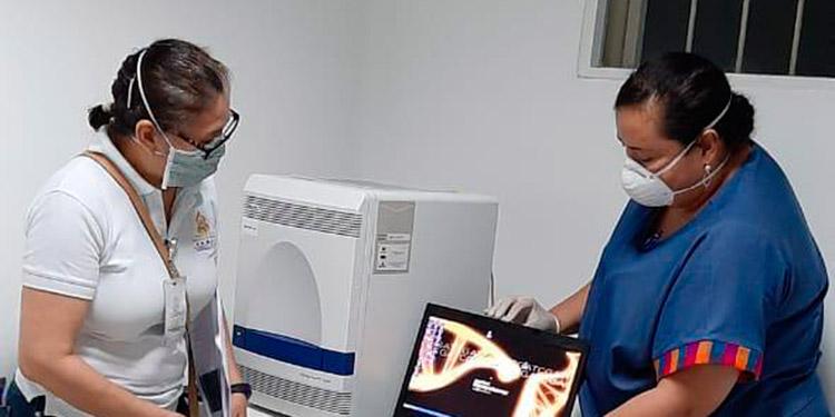 En marcha la instalación de laboratorio de pruebas COVID-19