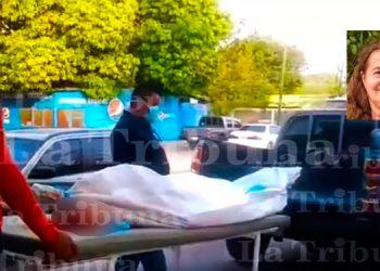 Durante desalojo de tierras muere dirigente campesina en Marcovia, Choluteca (Video)