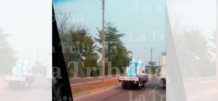 Doce fosas listas para masivo entierro por COVID-19 en el municipio de Villanueva (Video)