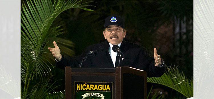 Ortega se dirigirá a Nicaragua tras 34 días sin aparecer en público