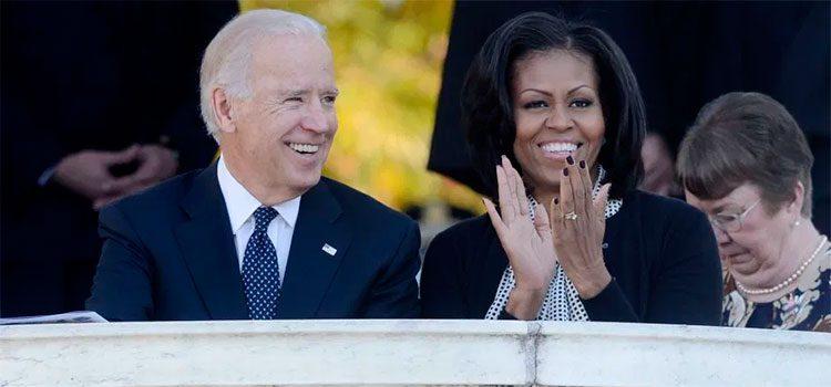 ¿Joe Biden y Michelle Obama juntos para vencer a Trump?