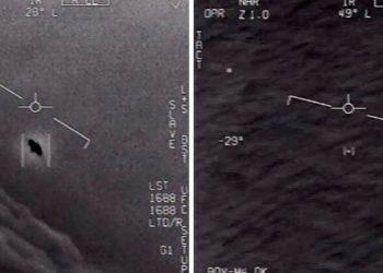 El Pentágono difunde imágenes de ovnis filmados por pilotos de la Marina de EEUU (Video)
