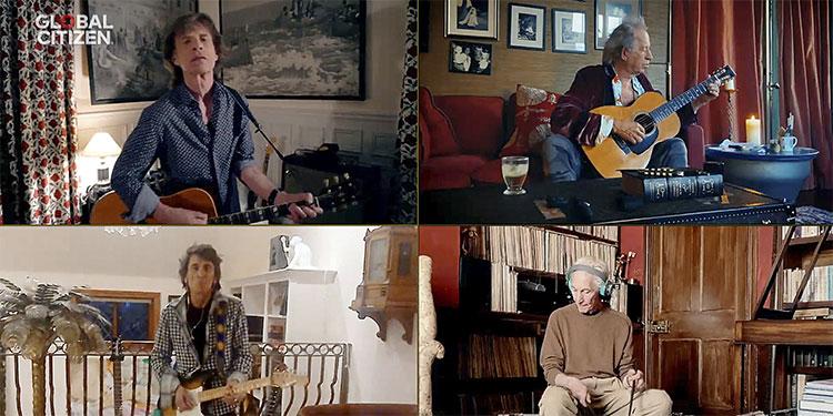 """Los Rolling Stones lanzan una nueva y elocuente canción: """"Living in a Ghost Town"""" (Video)"""