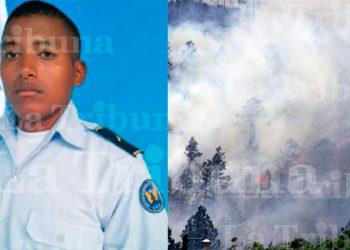 Soldado de las FFAA resulta con quemadura en un 80% de su cuerpo en incendio forestal