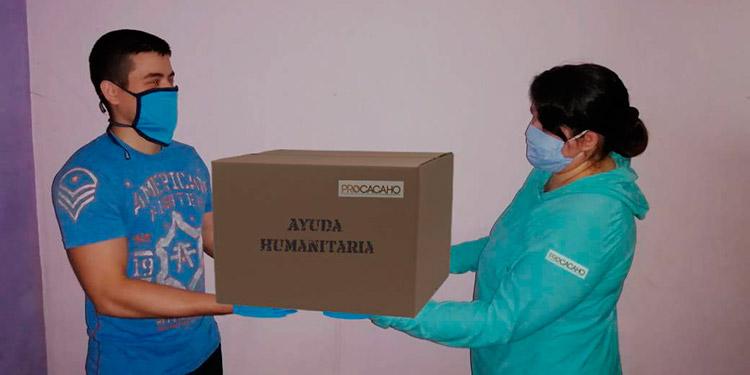 Colaboradores del Programa Procacaho coordinan la asistencia humanitaria en 31 municipios del país.