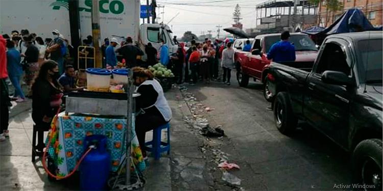 """Desmienten que """"bodegueros"""" del mercado Zonal Belén tengan coronavirus"""
