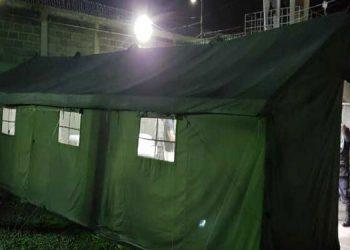 Dos áreas de aislamiento fueron habilitadas en el Centro Penitenciario Nacional de Támara, para los casos de COVID-19.