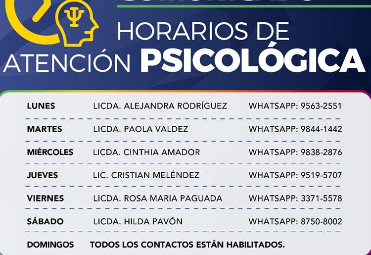 Psicólogos ofrecen gratis consulta telefónica y online