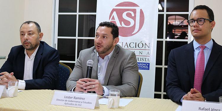 La Asociación por una Sociedad más Justa plateó la exhortación a la Sala Constitucional, a favor de la Fiscalía.