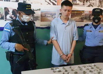 """Autoridades indicaron que el sospechoso es un gatillero del """"GDO MS-13"""" y se le investiga por crímenes en las colonias La Travesía, La Era, La Sosa y alrededores."""