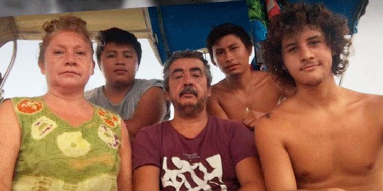 Extranjeros sobreviven 50 días en un velero pescando en Roatán