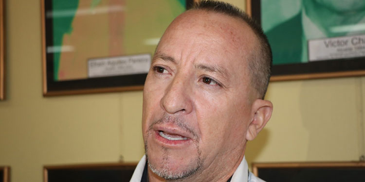 Fredy Mejía, comisionado municipal.