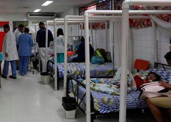 Se disparan los casos de dengue en el Hospital Escuela