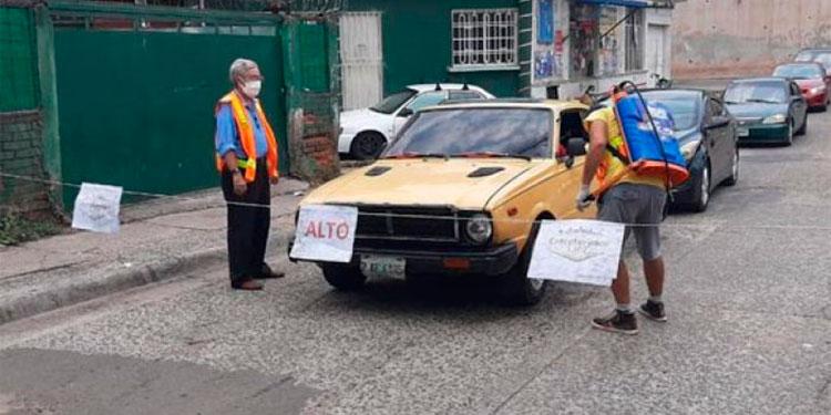Unos 230 barrios y colonias de la capital ya reportan casos positivos de COVID-19, según reportan las autoridades.