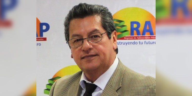 Gerente general del RAP, Enrique Burgos.