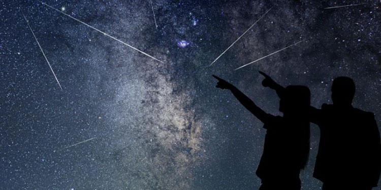 Este mes podrá verse una lluvia de estrellas