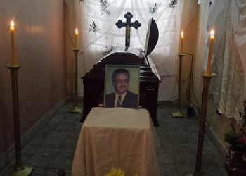 Último adiós tributan al exalcalde Víctor Chávez