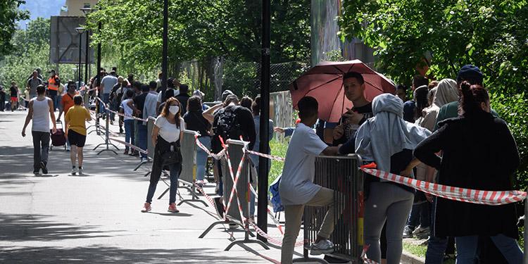 La crisis del coronavirus pone al descubierto la pobreza en Ginebra
