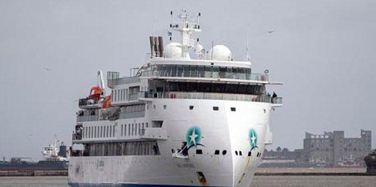 Unos 13 marinos hondureños se encuentran abandonados en un crucero de lujo varado en Uruguay.