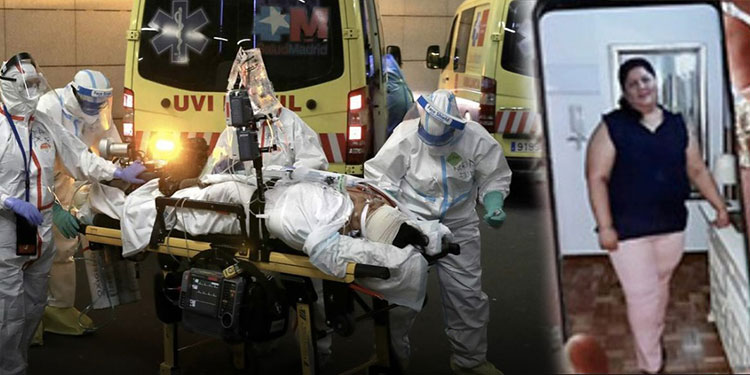 Erika Mejía no logró superar la enfermedad, a pesar de toda la asistencia médica que tuvo en España, incluso un traslado en helicóptero de un hospital a otro.